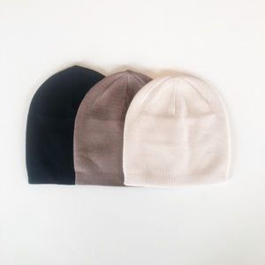 NWT Cashmere Slouch Toque